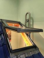 Вікно мансардне Designo зі шторкою акційне WDF R75 H N AL 07/09