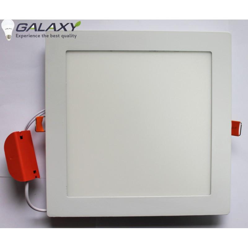 Светильник LED квадрат белый 15 Вт врезной металл GALAXY LED