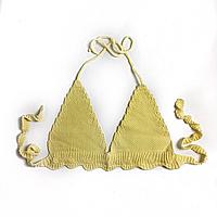 Лиф на завязках  цвет желтый размер S, фото 1