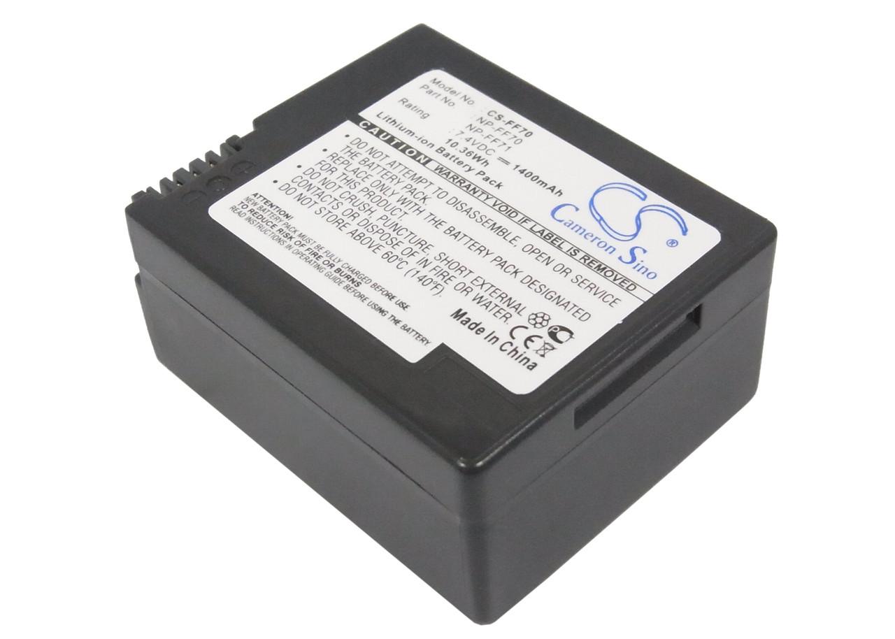 Аккумулятор Sony NP-FF70 1400 mAh