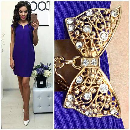 Фиолетовое платье «Caroline», фото 2