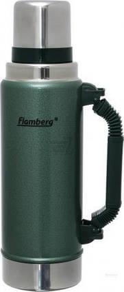 Термос 1250 мл зеленый VG125 Flamberg