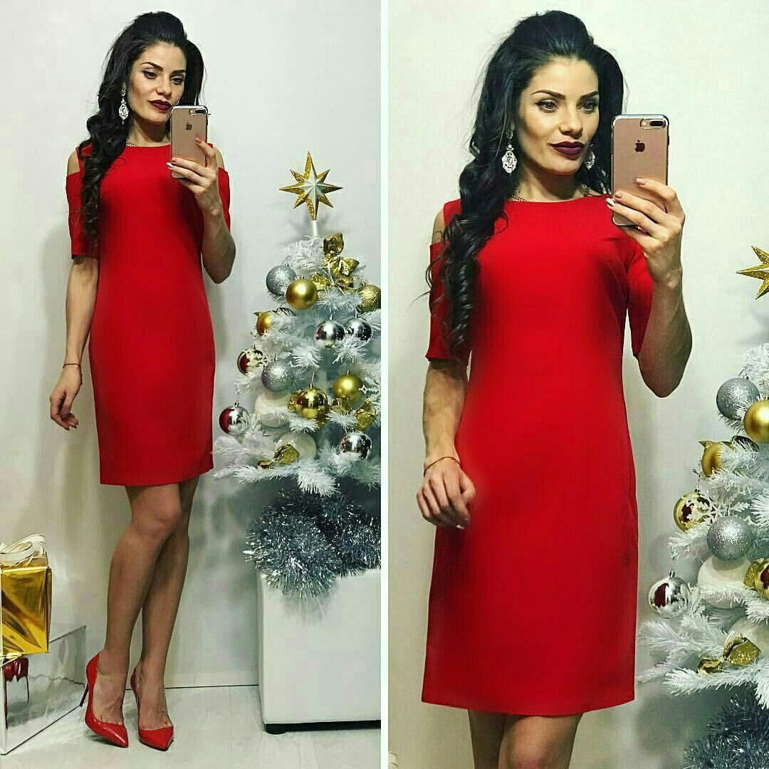 Красное платье «Carmen»