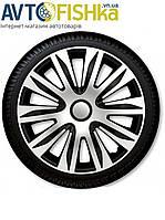 Ковпаки на колеса. Колпаки колесные ARGO R15  NARDO Silver/Black