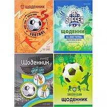 Дневник школьный Football твердая обложка
