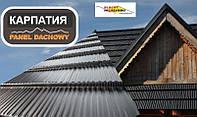 Модульная металлочерепица Карпатия Pruszynski PURLAK  RR 028