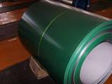 Гладкий лист с полимерным покрытием RAL 8017 0,45 мм . Глянец, фото 6