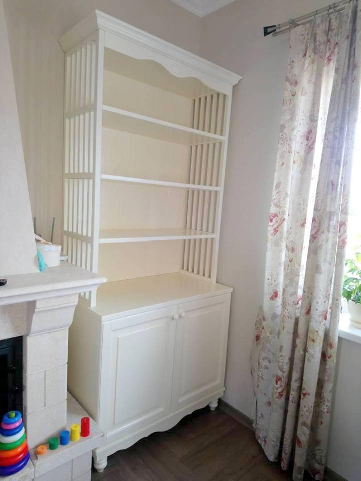 Книжный шкаф Прованс, цвет на выбор Rod