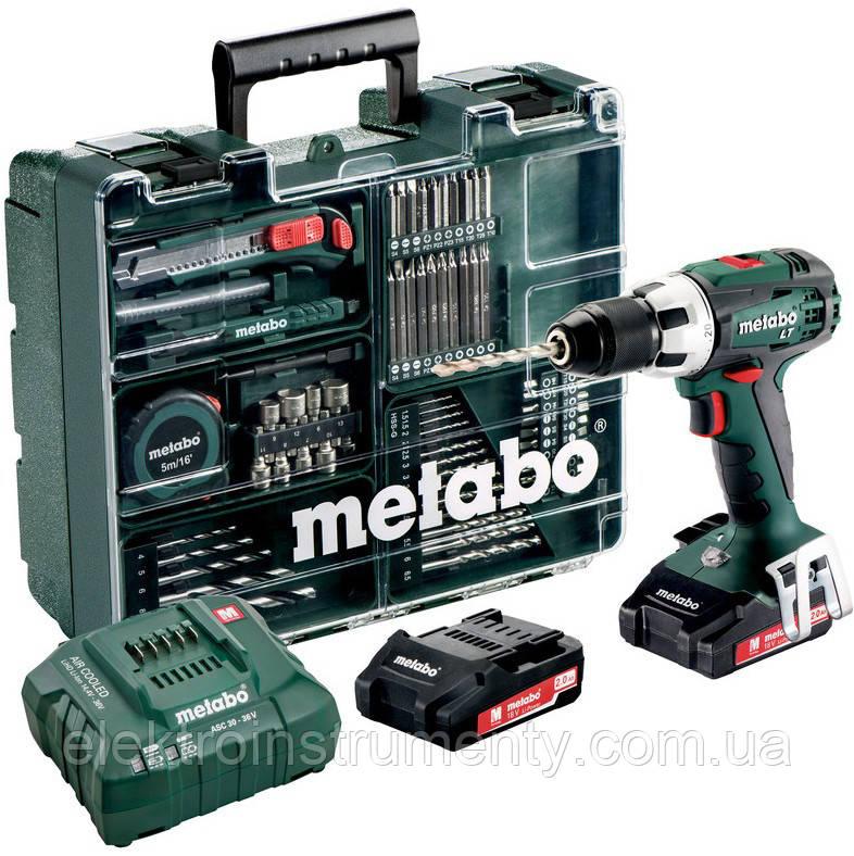 Купить Шуруповерт Metabo BS 18 LT Set (602102600)
