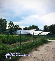 Мережева сонячна електростанція 20 кВт с. Саджавка
