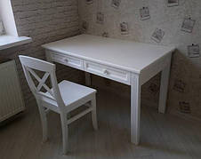 Письменный стол из массива дерева Прованс   РКБ-Мебель, цвет на выбор