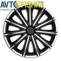 Ковпаки на колеса. Колпаки колесные ARGO R14  TORO BLACK /SILVER