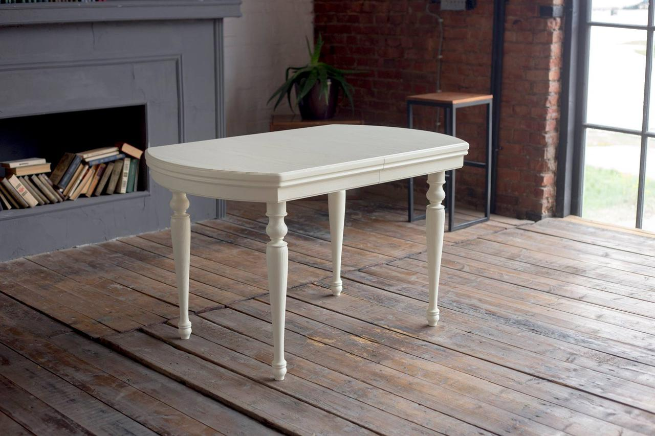 Стол обеденный раскладной из массива дерева  Ретро РКБ-Мебель,  цвет на выбор