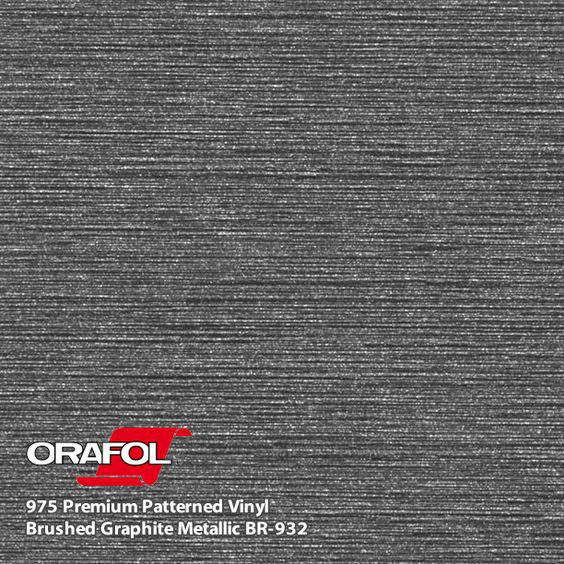 Oracal 975 Brushed Premium Structure Cast Grapfite Metallic