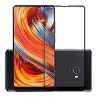 Закаленное защитное 5D стекло ПОЛНАЯ ПРОКЛЕЙКА (на весь экран) для Xiaomi Mi Mix 2S (выбор цвета)