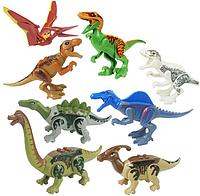 Набор Динозавры Аналог Лего 8 штук. Конструктор Набор № 3., фото 1