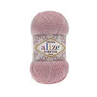Пряжа FOREVER SIMLI Alize 32 светло-розовый (Форевер Симли)
