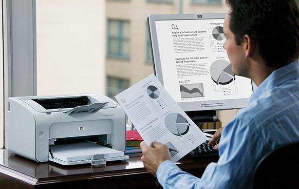 Настройка печати принтера