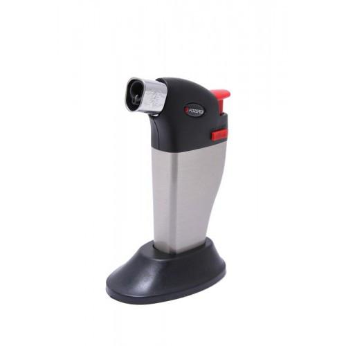 Горелка газовая с пьезорозжигом и подставкой (t-1300гр.), в блистере