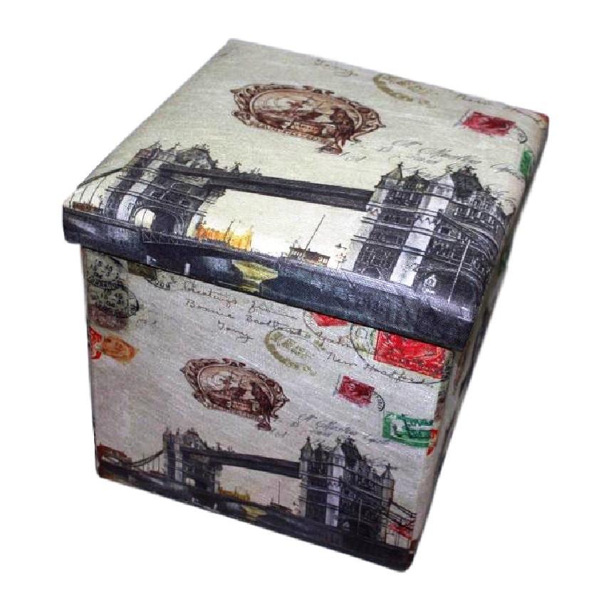 """Пуфик складной декоративный """"London"""" 030-16"""