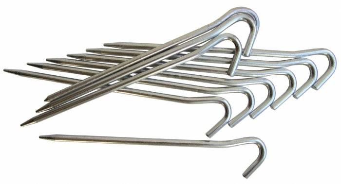 Комплект алюминиевых колышков Tramp