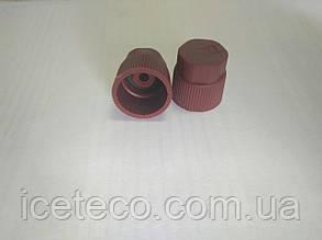 Заглушка пластиковая красная HP M10 x 1.25 Gamela 22612