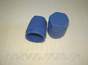 Заглушка пластиковая синяя LP M9 x 1 Gamela 22613