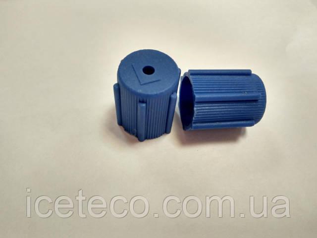 Заглушка пластиковая синяя LP М8*1 Gamela 22614
