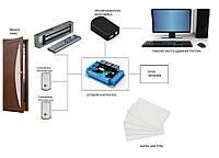 Система контроля доступа и учёта рабочего времени.