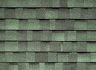 Двухслойная ламинированная мягкая черепица IKO Cambridge Xpress 43 Amazon Green