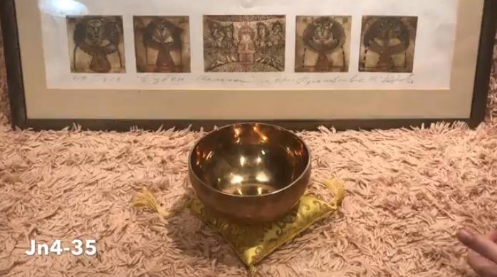Тибетская поющая чаша (Jn4-11)