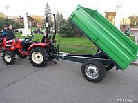Прицеп тракторный самосвальный ПТС-1,5М (Украина)