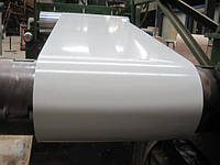 Гладкий  лист с полимерным покрытием толщиной 0,8 мм Италия ARVEDI , ширина 1250 мм .