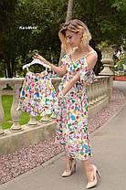 Одинаковые платья мама и дочка софт, фото 3