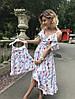 Одинаковые платья мама и дочка софт, фото 4