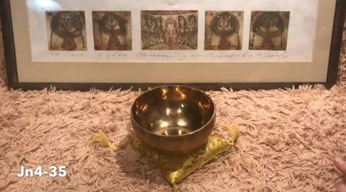 Тибетская поющая чаша (Jn4-35)