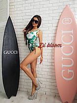 Хит сезона купальник и пляжная накидка с принтом, фото 2