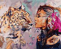 """Раскраска Антистресс для взрослых и детей """"Душа кошки"""", 40 х 50 см , С Коробкой"""