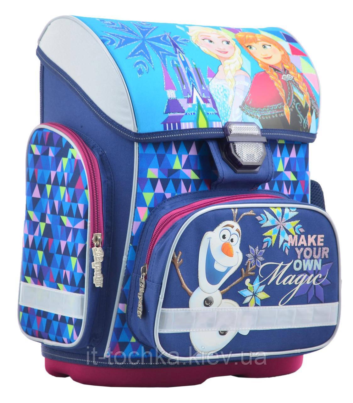 Рюкзак школьный каркасный 1 Вересня h-26 frozen, 40*30*16