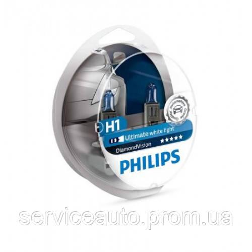 Автолампы Philips Diamond Vision H1 (R341)