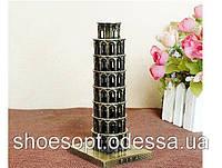 Пизанская башня декоративная металл 16см