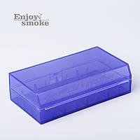 Кейс для аккумуляторов Efest L2, 2 x 18650 / 4 x 18350 - синий