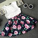 Комплект майка+ юбка на девочку, фото 2