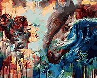 """Раскраска Антистресс для взрослых и детей """"Брызги океана"""", 40 х 50 см , С Коробкой"""