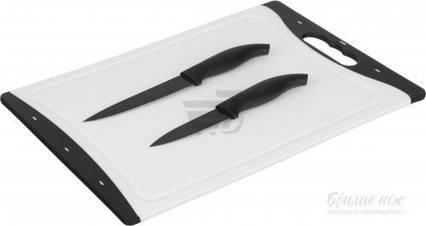 Набор досок разделочных с ножами 3 предмета 36х25х0,6 см Lang Da