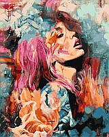 """Раскраска Антистресс для взрослых и детей """"Розовый цветок"""", 40 х 50 см , С Коробкой"""
