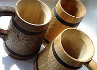 Бокал деревянный  0.5л