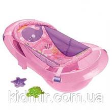 """Детская ванночка Fisher Price для купания 3 в 1 """"Розовая искорка"""""""