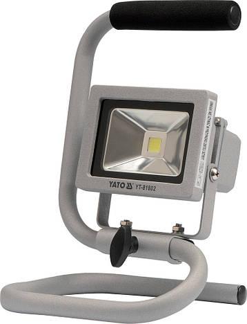 Переносной светодиодный прожектор Yato YT-81802, фото 2