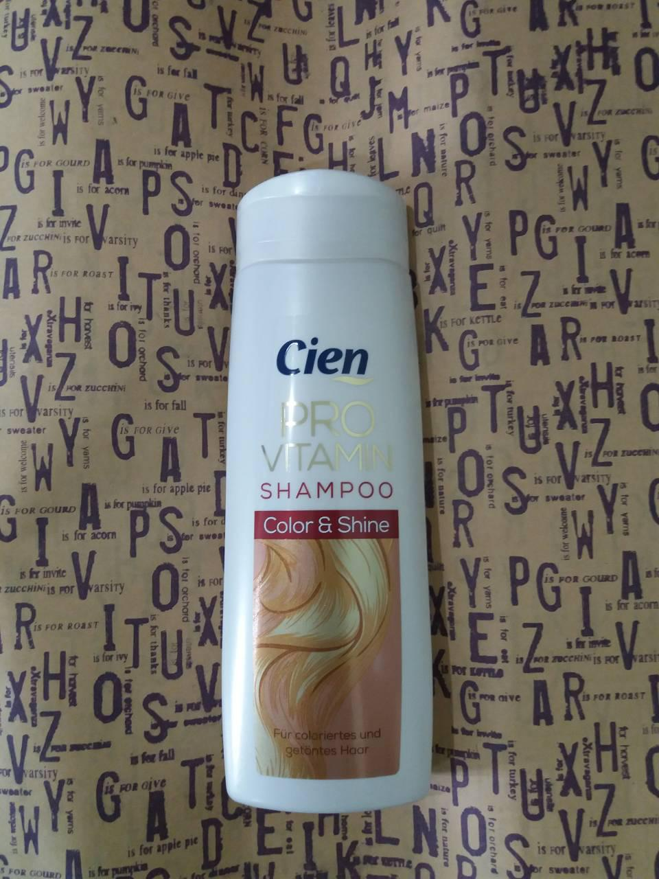 Шампунь-кондиционер Cien Provitamin Shampoo - Conditioner 2in1 Color & Shine для окрашенных волос 300 мл